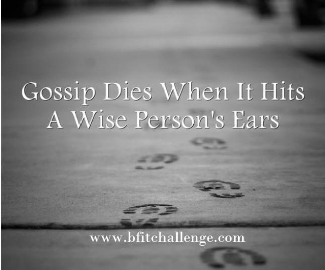 gossip dies