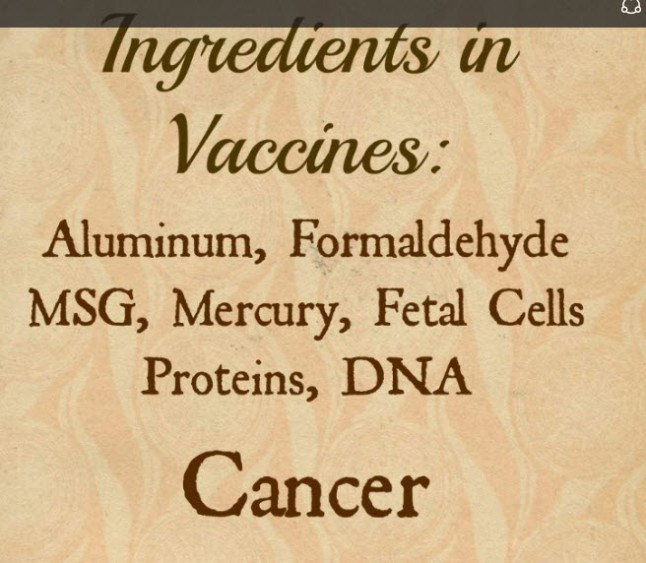 ingredients in vac